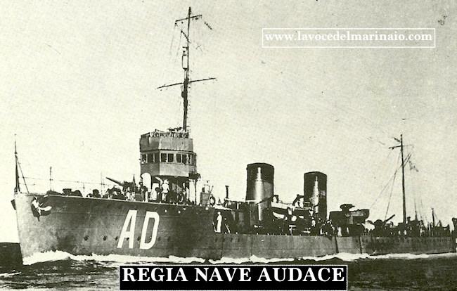 regio cacciatorpediniere Audace - www.lavocedelmarinaio.com