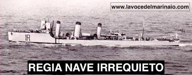 12.12.1912 Torpediniera Irrequieto