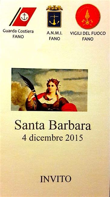 4.12.2015 Santa Barbara a Fano www.lavocedelmarinaio.com