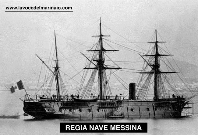 Regia corazzata Messina - www.lavocedelmarinaio.com