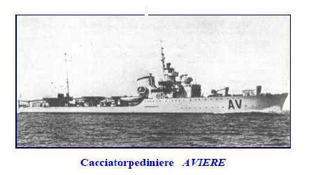 regio cacciatorpediniere Aviere - www.lavocedelmarinaio.com