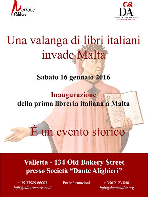locandina Libreria italia a malta.indd