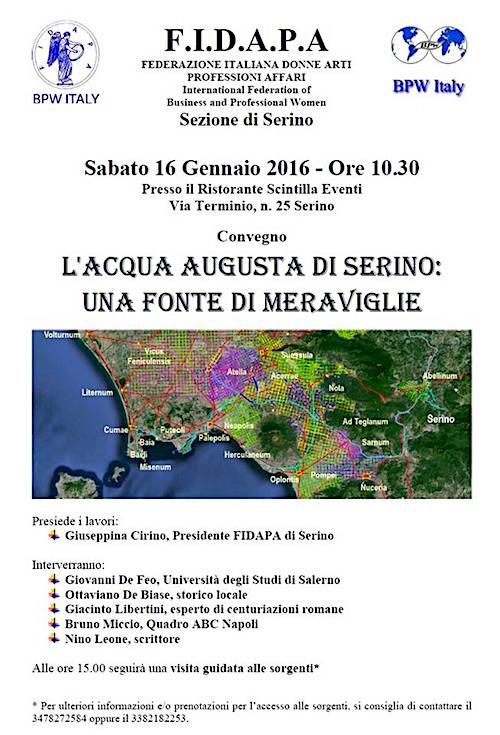 16.1.2016 a Serino - www.lavocedelmarinaio.com