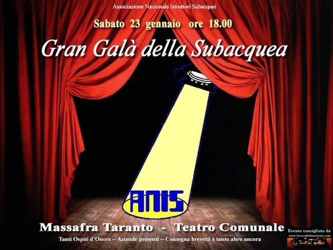 23.1.2016 a Massafra gran gala della Subacquea - www.lavocedelmarinaio.com