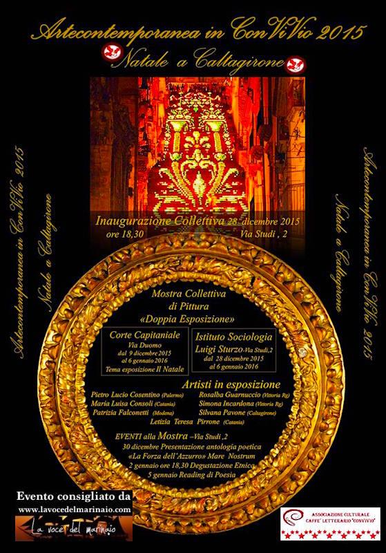 28.12-6.1.2015 a Caltagirone doppia esposizione - www.lavocedelmarinaio.com