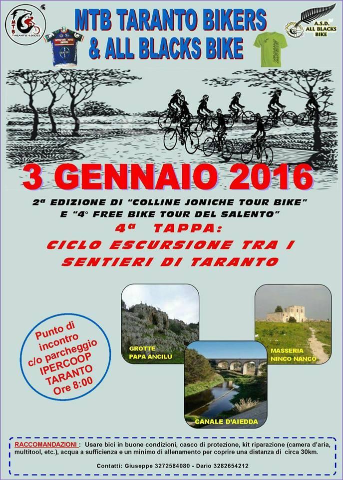 3.1.2016 4^ tappa tra i sentieri di Taranto - www.lavocedelmarinaio.com