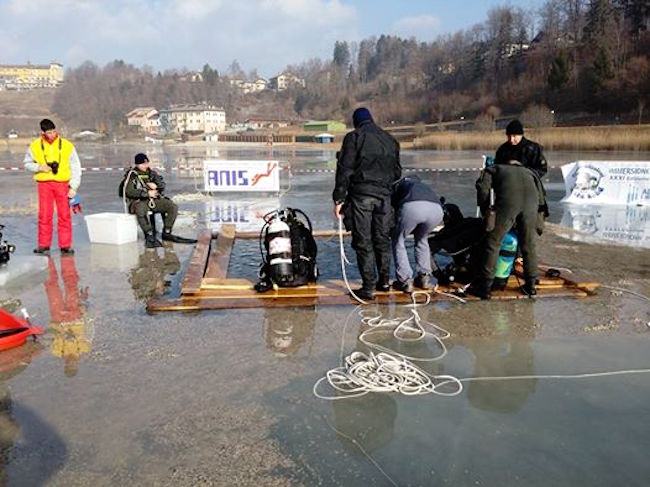30-31.1.2016 ANIS Lago di Lavarone f.p.g.c. Stefano Saliola a www.lavocedelmarinaio.com
