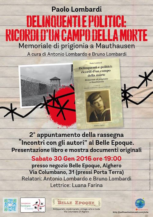 30.1.2016 ad Alghero delinquenti politici - www.lavocedelmarinaio.com