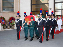 Il giorno dei funerali di Gino Birindelli - www.lavocedelmarinaio.com