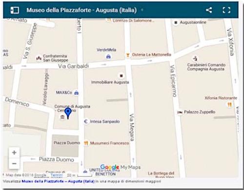 Il museo della Piazzaforte ad Augusta - www.lavocedelmarinaio (foto internet)