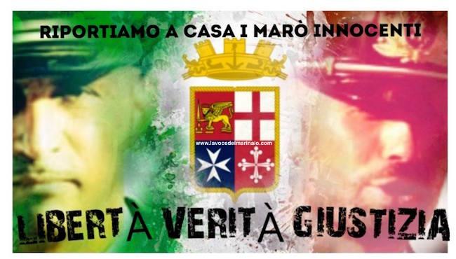 Libertà, verità e giustizia per Massimiliano Latorre e Salvatore Girone - www.lavocedelmarinaio.com copia