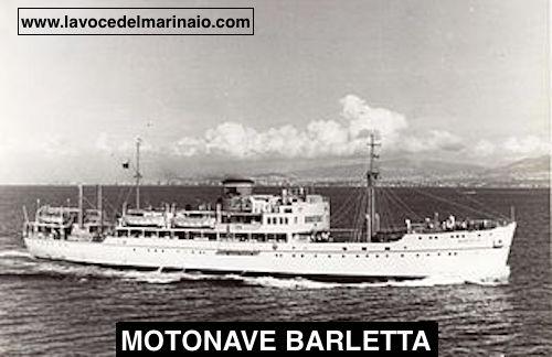 Motonave Barletta - www.lavocedelmarinaio.com
