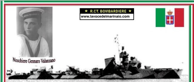 Nocchiere Gennaro Valanzano - Regia nave Bombardiere - www.lavocedelmarinaio.com