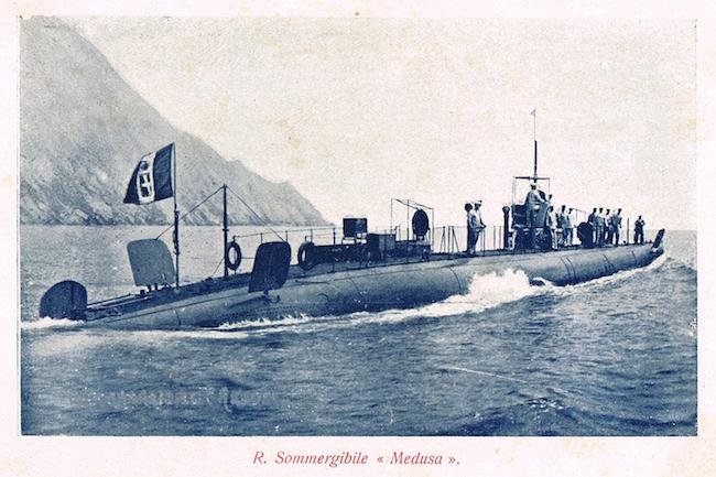 Regio sommergibile Medusa - www.lavocedelmarinaio.com
