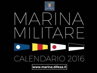 calendario 2016 della Marina Militare - www.lavocedelmarinaio.com