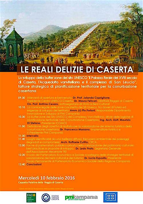 10.2.2016 le reali delizie di Caserta - www.lavocedelmarinaio.com