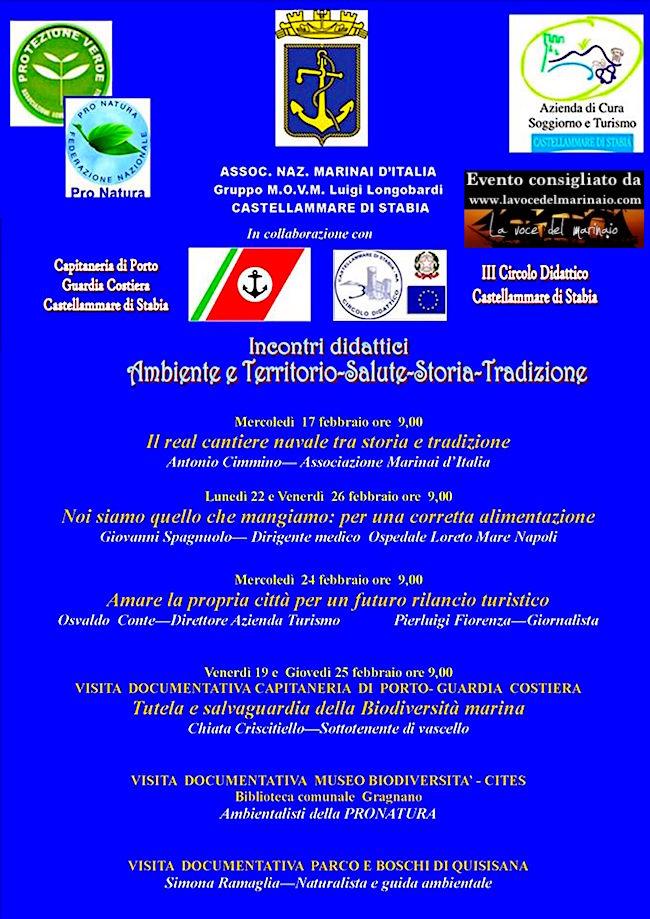 17.2. e altre date a castellamare di stabia - www.lavocedelmarinaio.com