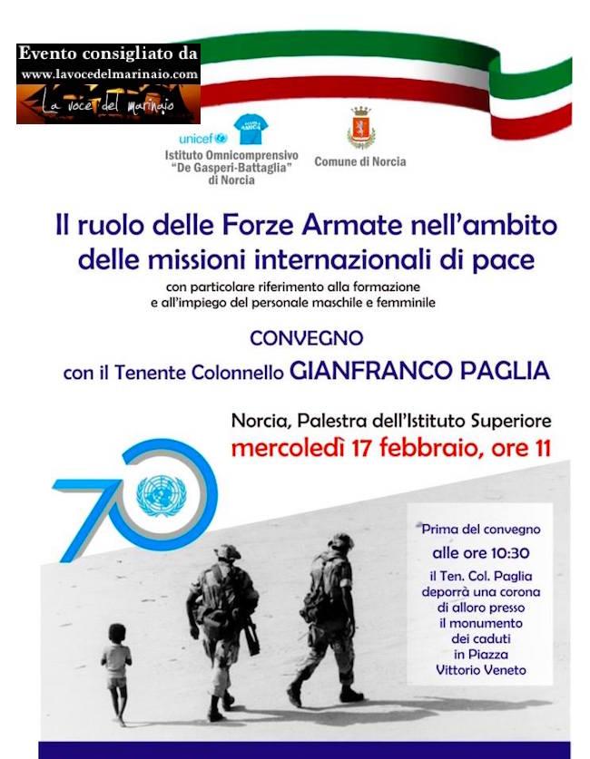 17.2.2016 a Norcia Gianfranco Paglia - www.lavocedelmarinaio.com