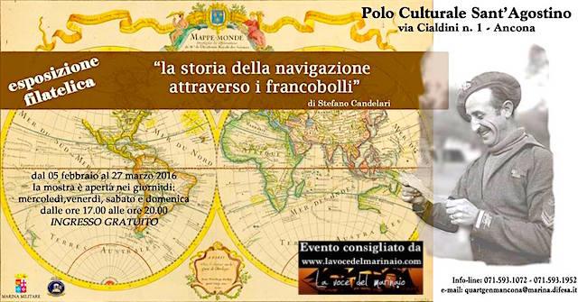 5.2 - 27.3.2016 ad Ancona la storia della navigazione attraverso i francobolli (stefano candelari) - www.lavocedelmarinaio.com