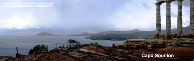 Capo Sounion e coste greche - www.lavocedelmarinaio.com