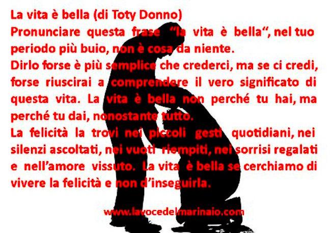 La vita è bella (toty donno) - www.lavocedelmarinaio.com