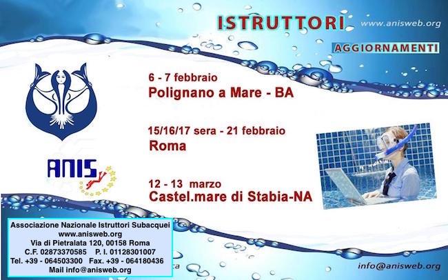 Prossimi eventi ANIS (associazione nazionale subacquei italiana co - www.lavocedelmarinaio.com