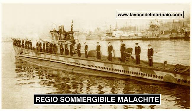 Regio sommergibile Malachite in bella posa - www.lavocedelmarinaio.com
