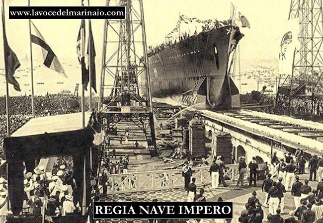 varo regia Corazzata Impero la nave che non prese mai il mare - www.lavocedelmarinaio.com