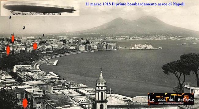 11.3.1918 il primo bombardamento aereo su Napoli - www.lavocedelmarinaio.com