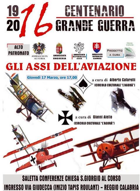 17.3.2016 a Reggio Calabria gli assi della grande guerra - www.lavocedelmarinaio.com