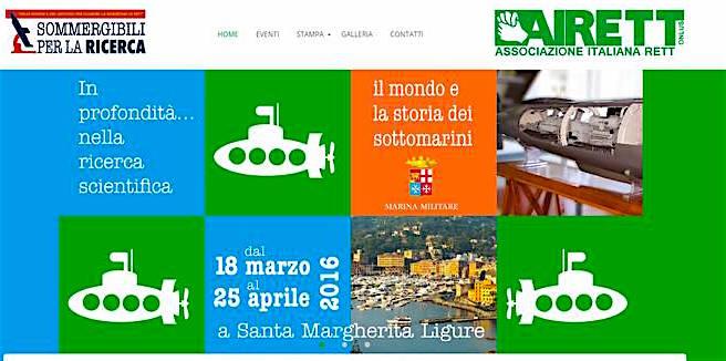 18.3-25.4.2016 a Santa Margherita ligure - sommergibili-per-la-ricerca-www.lavocedelmarinaio.com