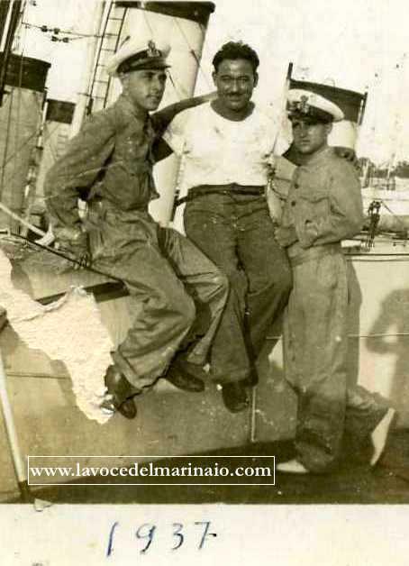 1937 Capo Miccoli e i suoi amici - www.lavocedelmarinaio.com