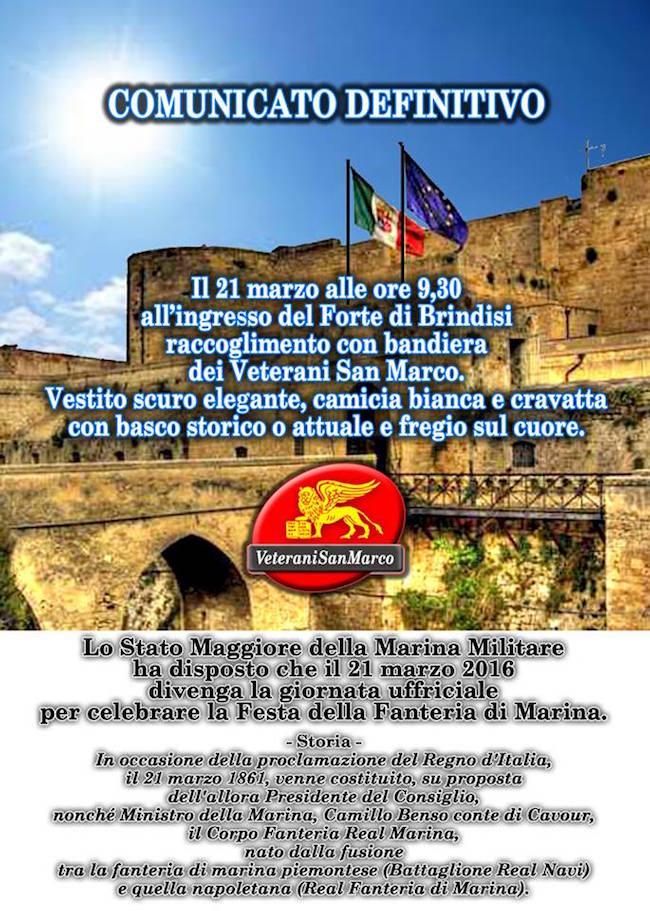 21.3.2016 a Brindisi (foto sergio jacuzzi) www.lavocedelmarinaio.com