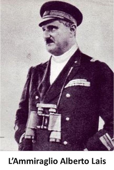 Ammiraglio Alberto Lais - www.lavocedelmarinaio.com
