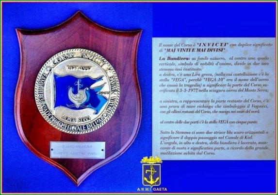 Crest del corso Invicti f.p.g.c. Carlo Di Nitto a www.lavocedelmarinaio.com