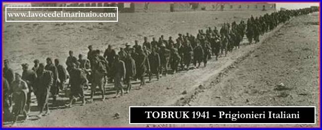 Militari italiani fatti prigionieri dagli inglesi a Tobruk (1941) - www.lavocedelmarinaio.com