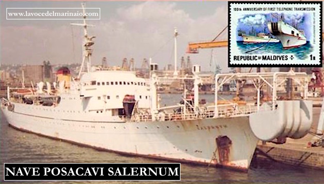 Nave posacavi Salernum - www.lavocedelmarinaio.com