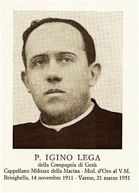 Padre Igino Lega - www.lavocedelmarinaio.com