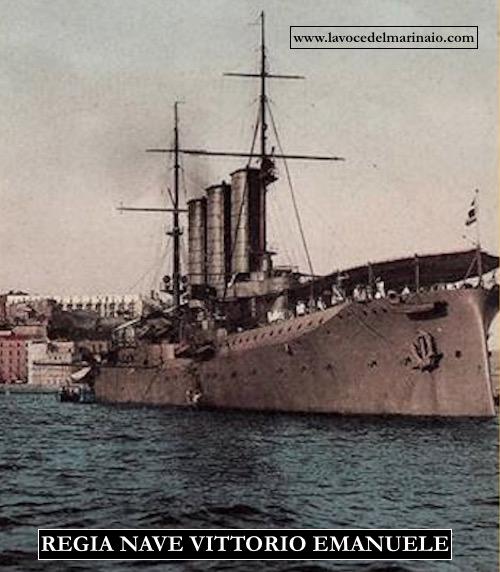regia nave Vittorio Emanuele - www.lavocedelmarinaio.com