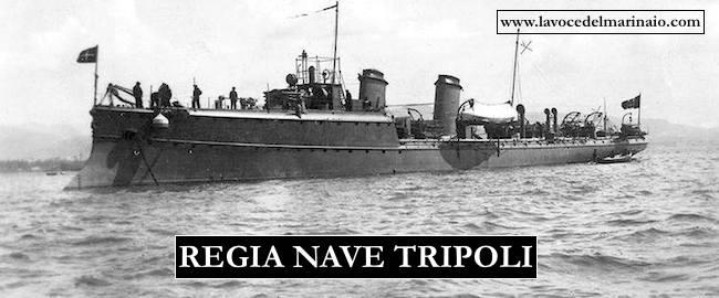 regio incrociatore Tripoli - www.lavocedelmarinaio.com