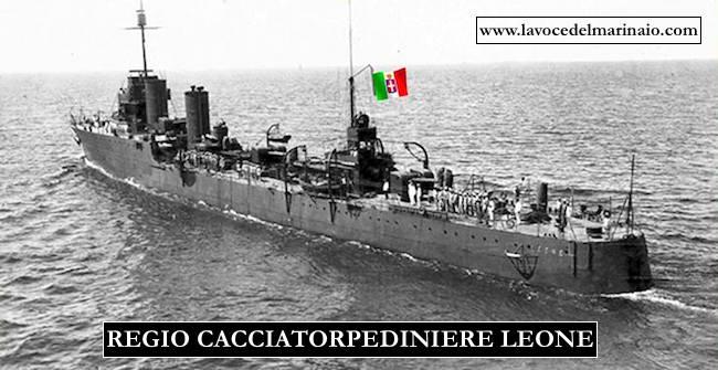 1.4.1941 affondamento regio cacciatorpediniere Leone