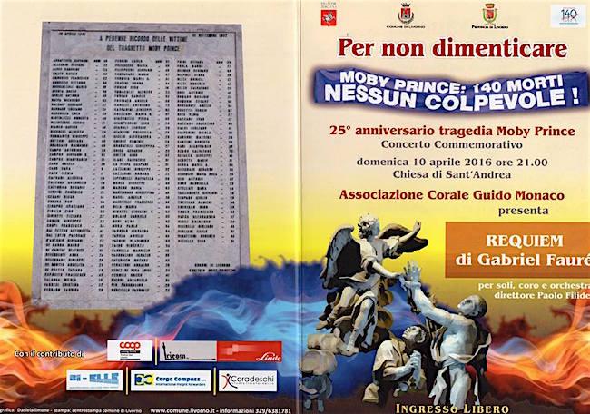 10.4.2016 a Livorno per non dimenticare le vittime della moby prince - www.lavocedelmarinaio.com