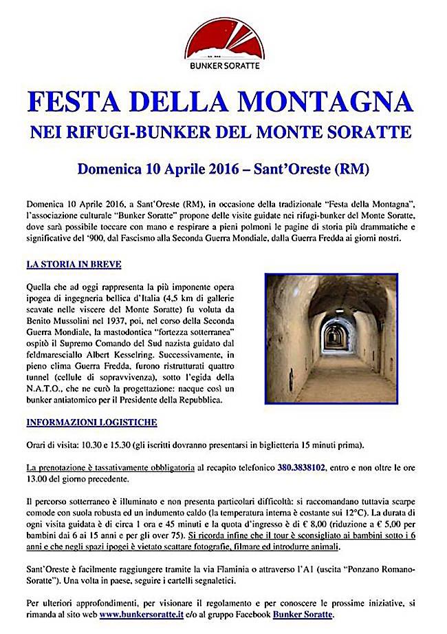 10.4.2016 festa della montagna a Sant'Oreste - www.lavocedelmarinaio.com