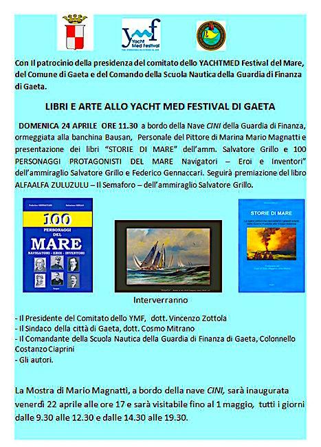 22.4-1.5.2016 mostra pittori di mare a Gaeta - www.lavocedelmarinaio.com