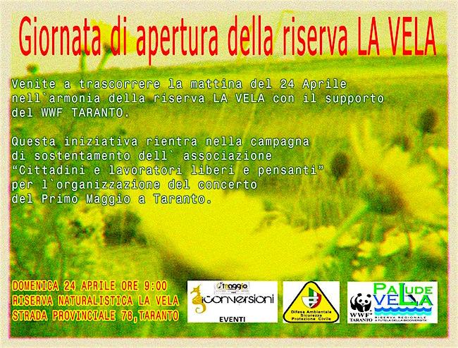 24.4.2016 a Taranto col wwwf - www.lavocedelmarinaio.com
