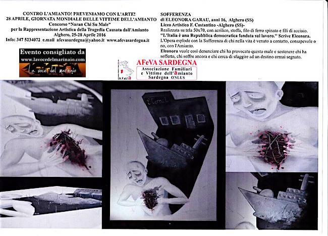 25-28.4.2016 ad Alghero per le vittime dell'amianto - www.lavocedelmarinaio.com