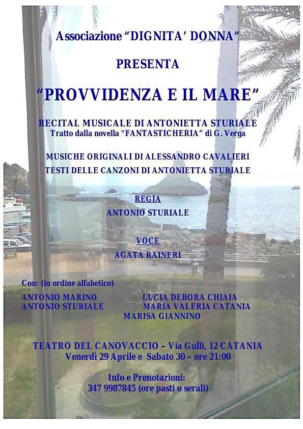 29-30.4.2016 a Catania musical Provvidenza e il mare - www.lavocedelmarinaio.com