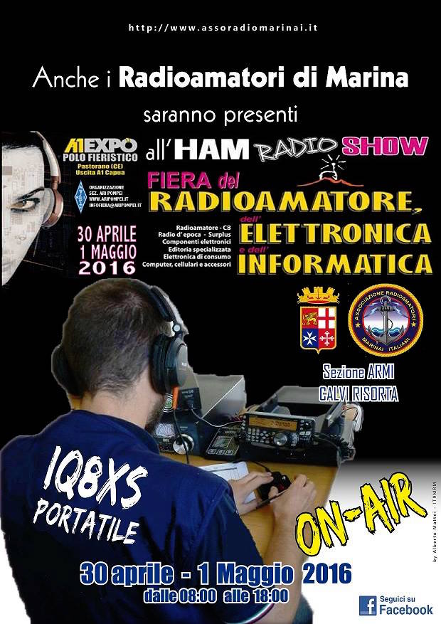 30.4-1.5.2016 con i radiamatori ARMI - www.lavocedelmarinaio.com
