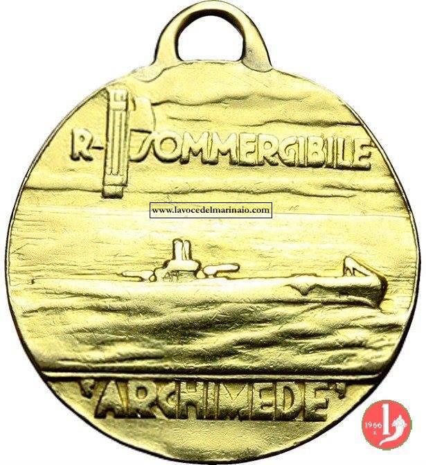 Medaglia regio sommergibile Archimede - www.lavocedelmarinaio.com