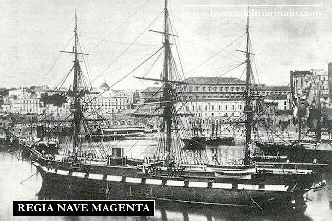 Regia nave Magenta - www.lavocedelmarinaio.com